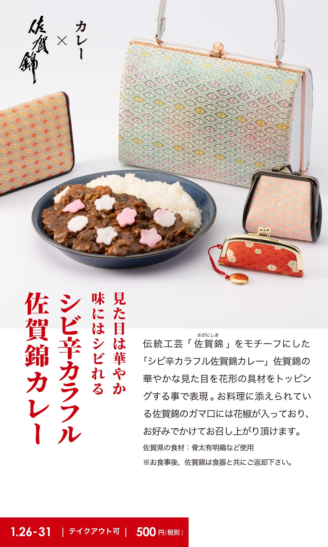 シビ辛カラフル佐賀錦カレー